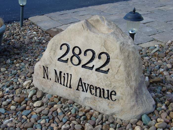Address Stones for Sale in Ohio